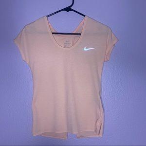 Nike Dry Fit Split Back T-shirt Tee